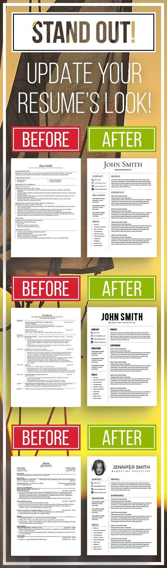 cv template, resume template, minamilist resume, resume template ...