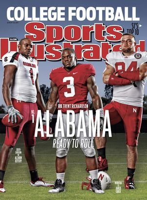 An Alabama Crimson Tide Community Crimson Tide Football Alabama Football Roll Tide Sports Illustrated Covers