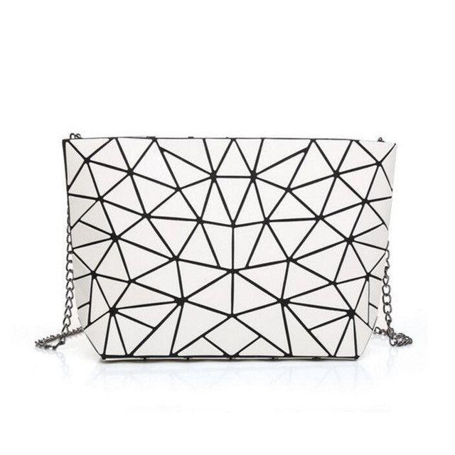 Women Bao Bao Bag Geometry Laser Handbag Chain BAOBAO Totes Clutch Shoulder Crossbody  Bags 46e1d87f0b49c