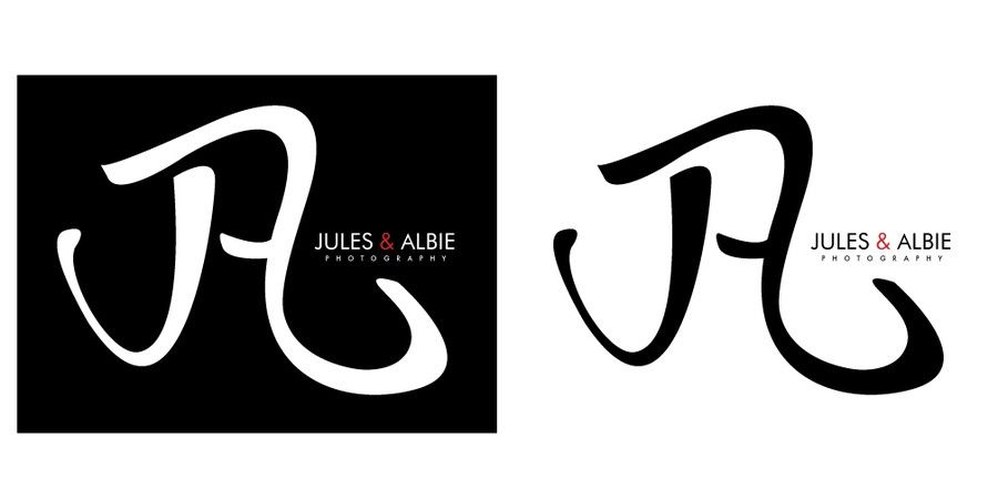 Jules & Albie Photography Logo  by bz