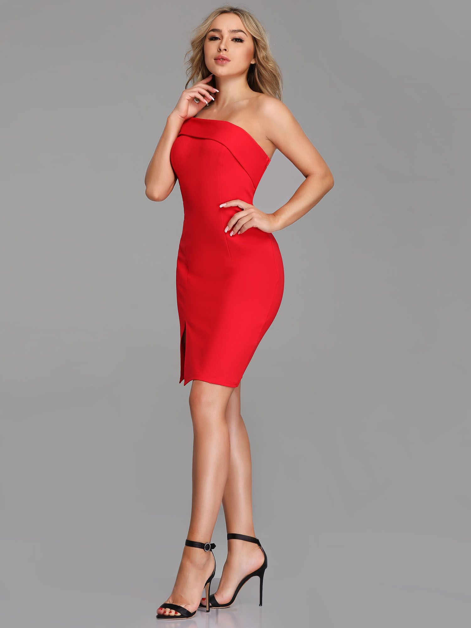 Ever Pretty Ever Pretty Women S One Shoulder Bodycon Red Evening Party Cocktail Mini Dresses For Women 05852 Us 4 Walmart Com Short Cocktail Dress Red Dress Short Mini Cocktail Dress [ 2000 x 1500 Pixel ]