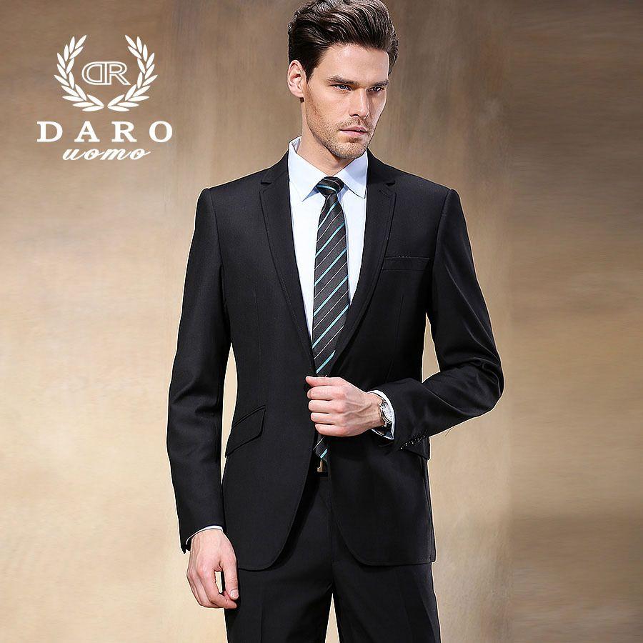 Купить западный стиль черный цвет мужчины деловые костюмы