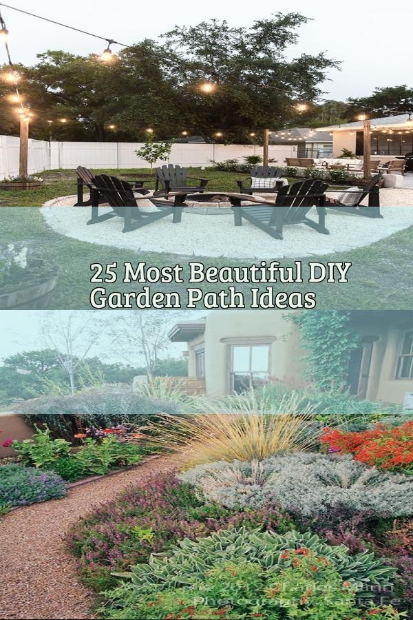 25 Most Beautiful Diy Garden Path Ideas In 2020 Easy Landscaping Diy Landscaping Backyard Landscaping