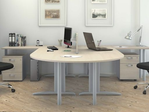 Bureau bench 2 personnes corporate bureau pinterest for Bureau 2 personnes