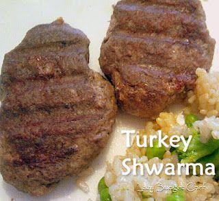 Avenger's Shwarma Turkey Burgers
