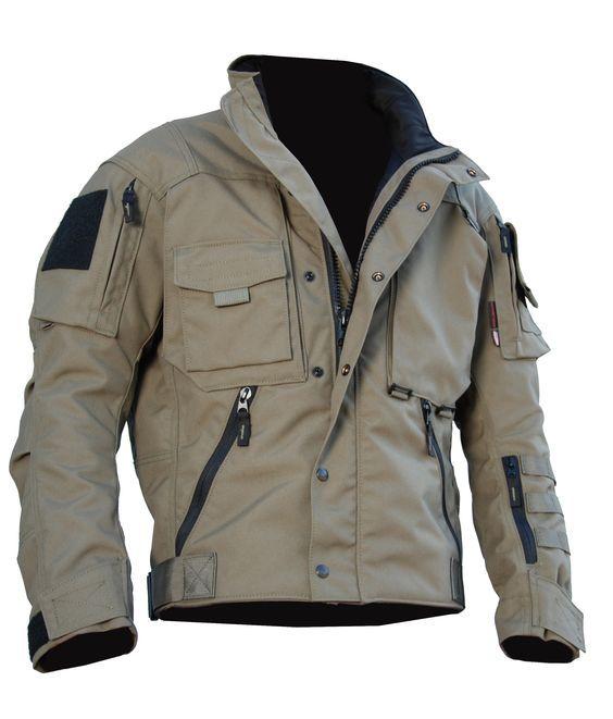 Chalecos Lederjacke Herren, Outdoor Bekleidung, Taktische Ausrüstung,  Stylische Kleidung, Bekleidung – Herren 55f2be381f