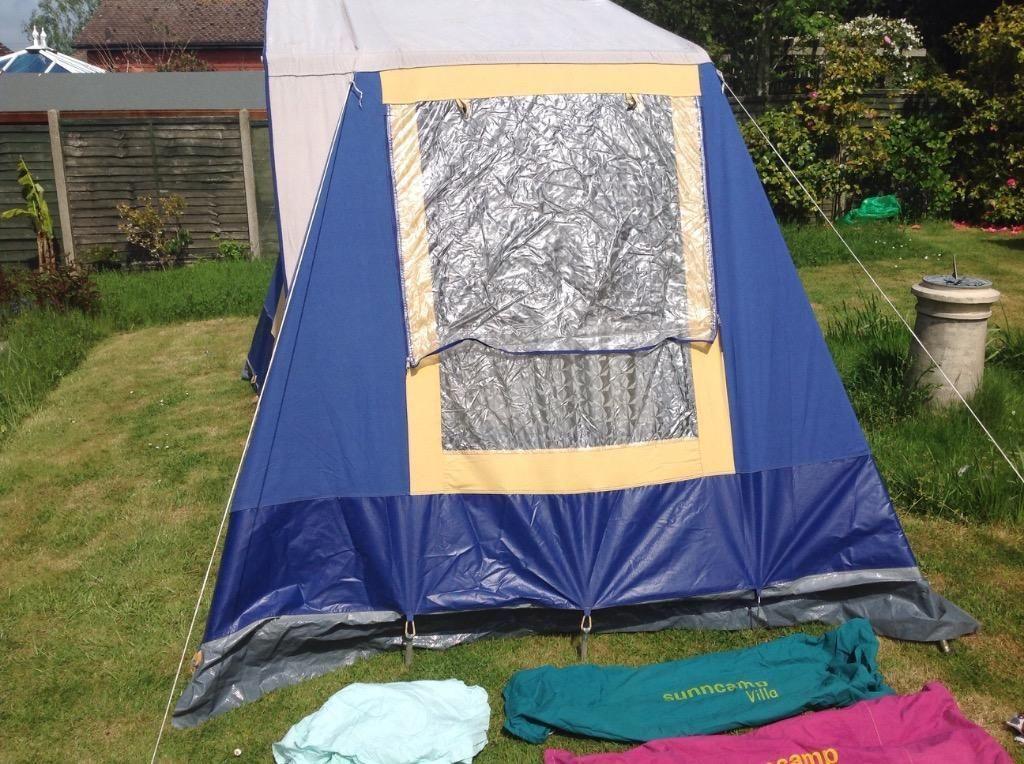 Sunncamp villa 4 tent | | Frame Tents Retro | Pinterest | Tents and ...