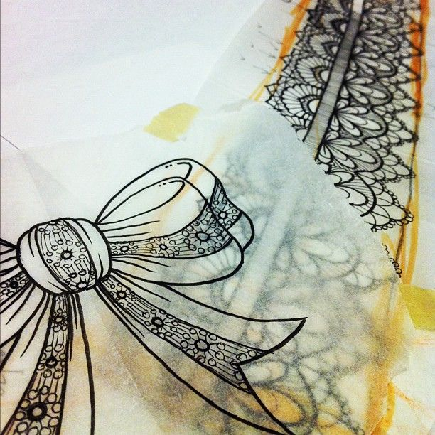 Pin By Shanna Majko On Drawing Ideas Lace Bow Tattoos Lace Tattoo Bow Tattoo