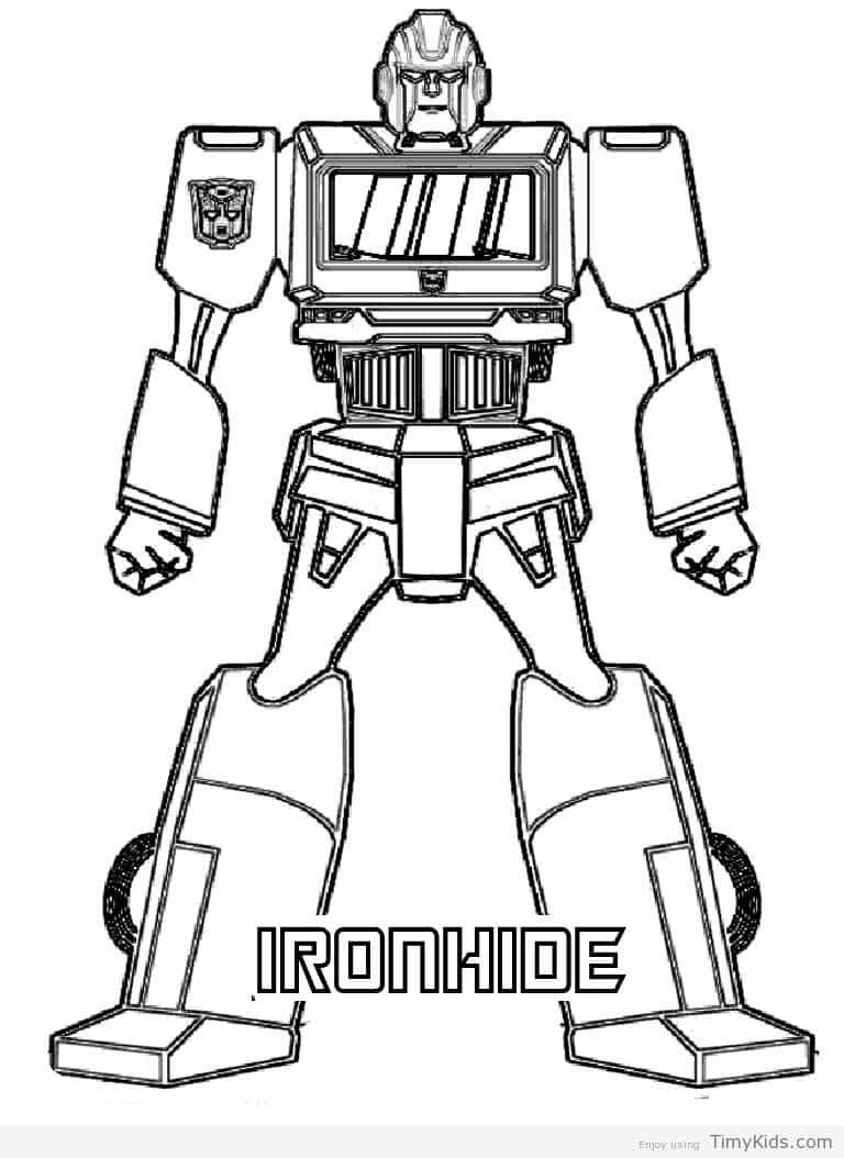 Timykids Transformers Coloring Page Html Colorings