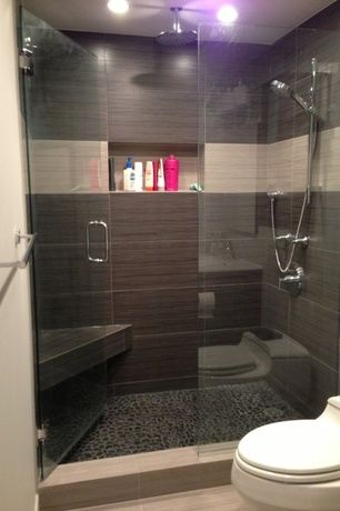 Modern Full Bathroom With Hansgrohe Croma E 48 48Jet Handshower Set Custom Bath Remodel Chicago Set