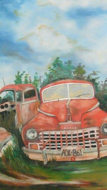 Yagli Boya Araba Oil Painting Oil Painting Painting Art
