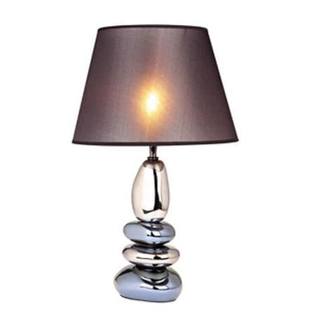 All the Rages Stacked Stones Ceramic 22.4'' H Table Lamp with Empire Shade