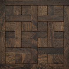 Classic American Walnut Cheverny Mosaic Wood Floors Coswick
