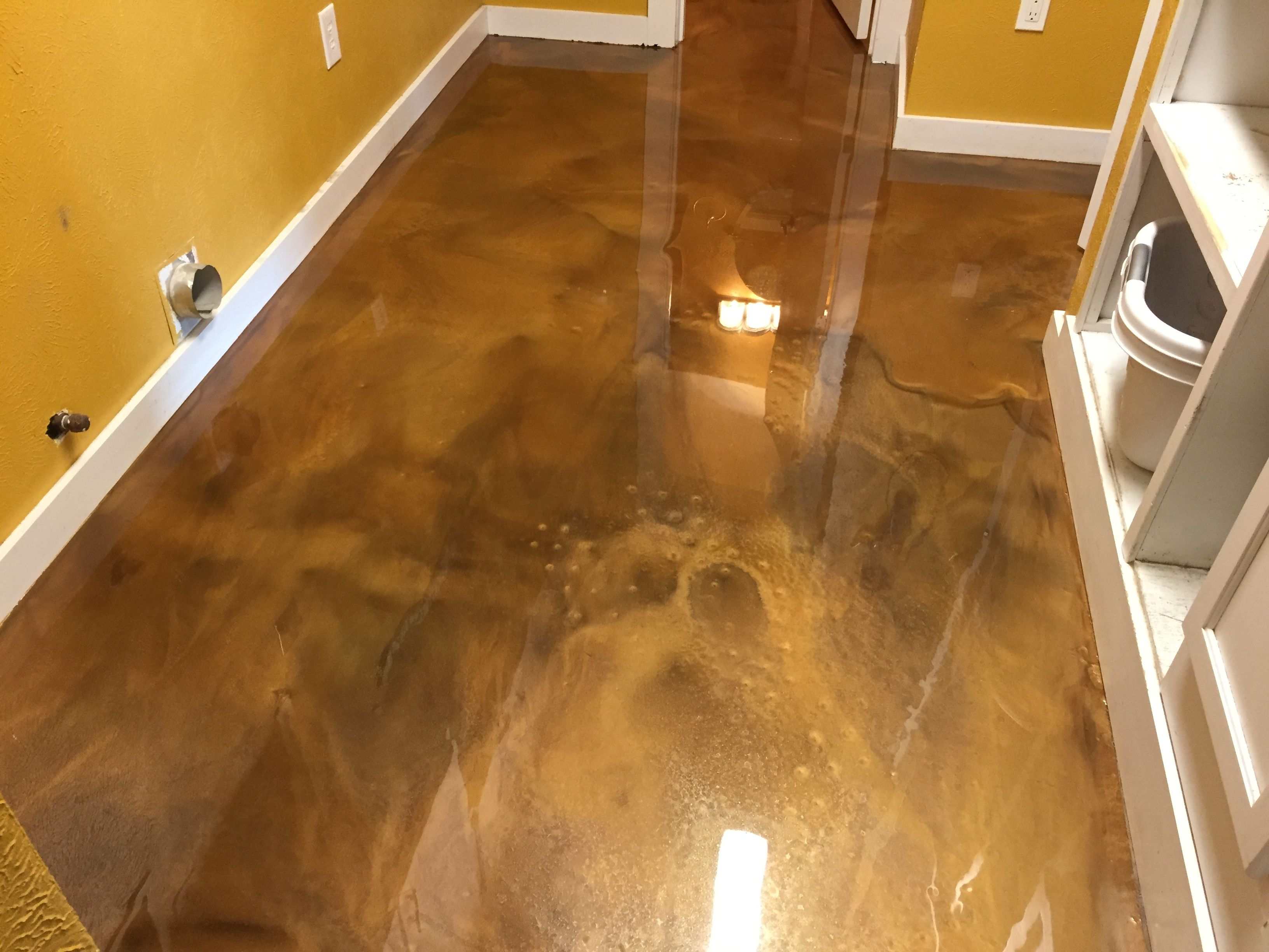Metallic Epoxy Floor Coating For A Truly One Of Kind