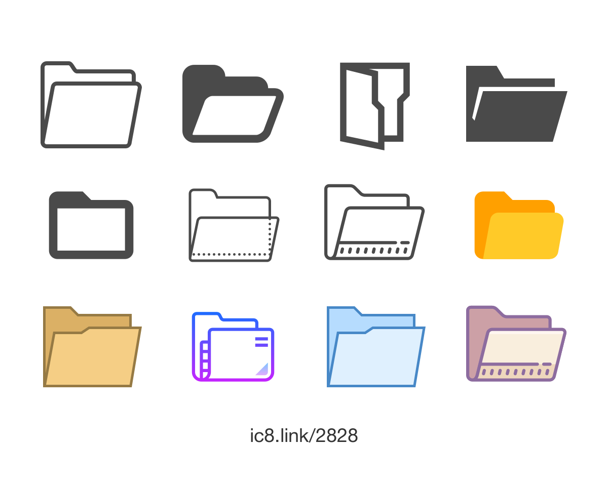 Free Flat Open Icon Of Office Available For Download In Png Svg And As A Font Icons Gra Folder Icon Graphic Design Posters Powerpoint Background Design