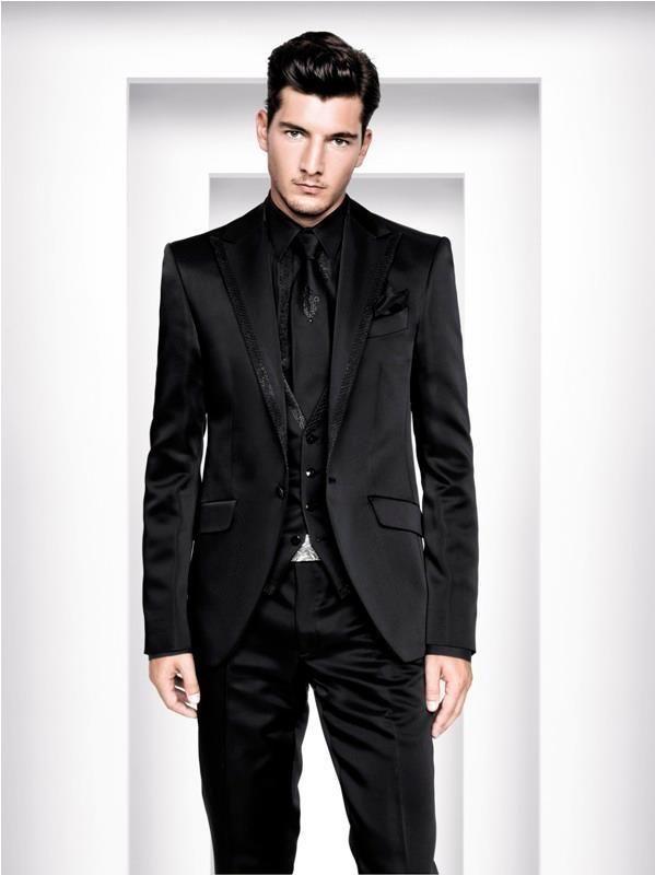 Imagini pentru mens all black suit | CHESTI DE IMBRACAT 2 ...