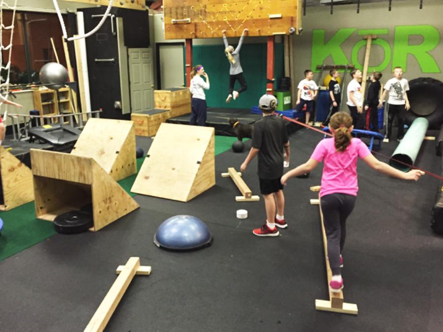 Youth Ninja Warrior Class   KOR Integrated Fitness ...