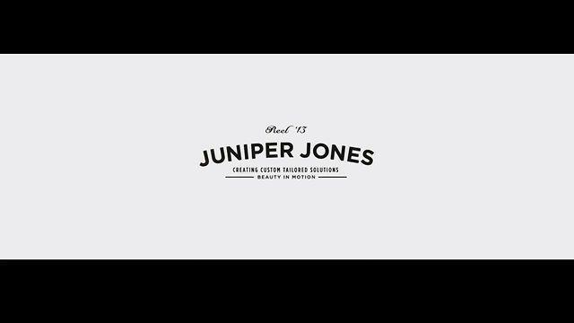 Juniper Jones Reel by Juniper Jones. Beauty In Motion. Custom Tailored Solutions. Juniper Jones.