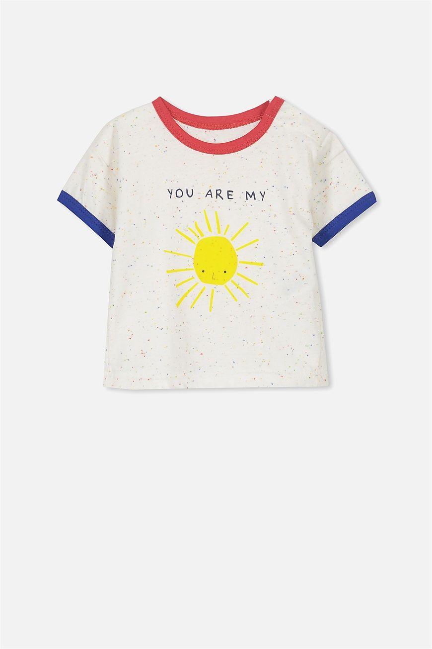 KUKEONON Baby Kids Boys Graphic Short Sleeve T-Shirt Summer Casual Tee