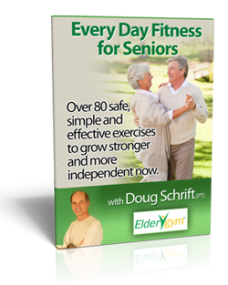 Upper Arm Exercises For Seniors Senior Fitness Flexibility Workout Exercise