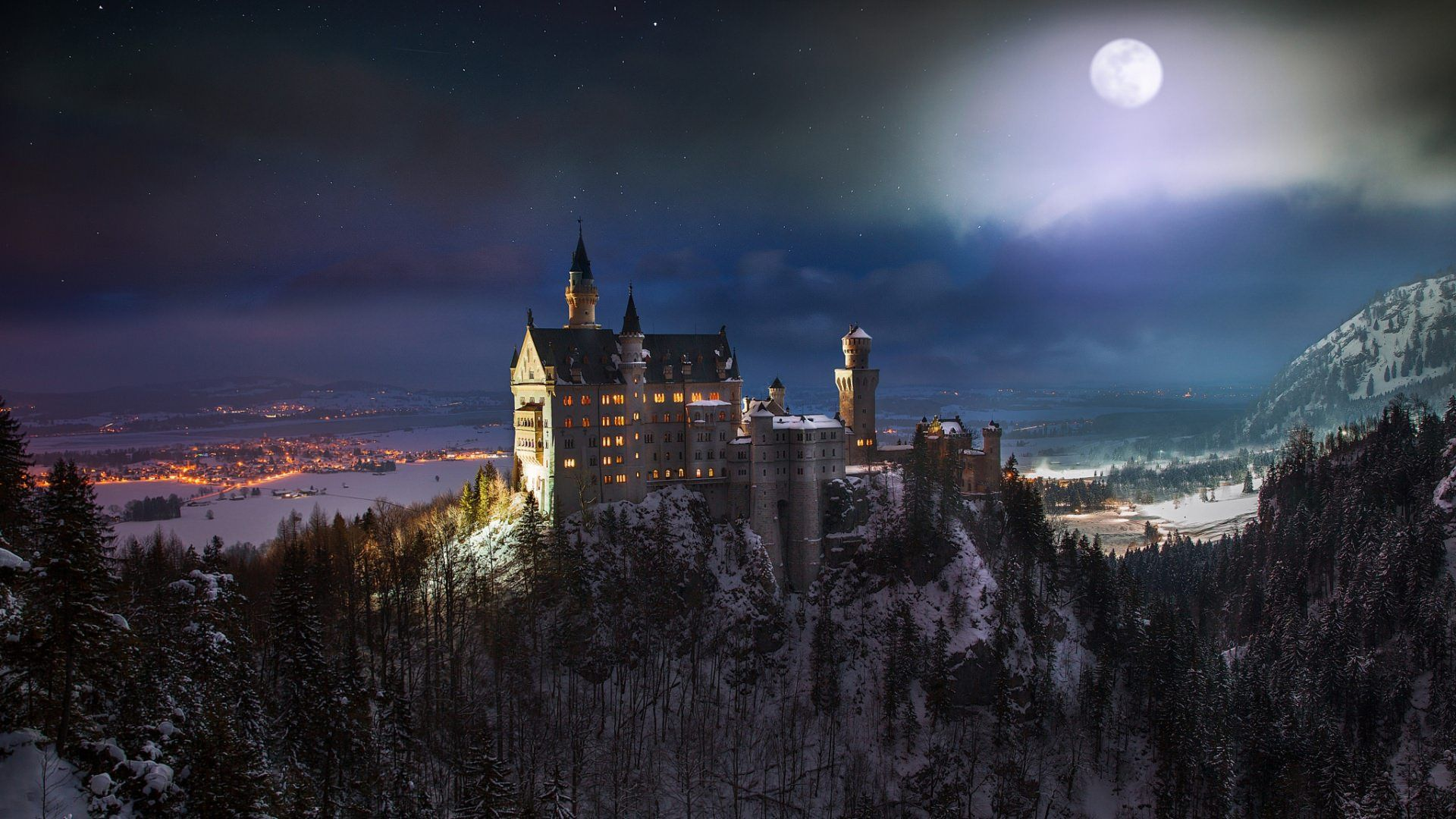 My Top 10 Wallpapers Of All Time What Is Your Favorite Neuschwanstein Castle Castle Castle Painting