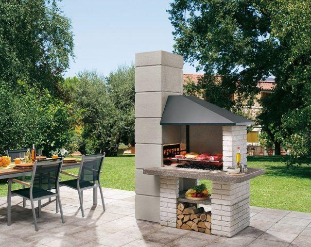 exceptionnel Barbecue extérieur par Palazzettiu2013plaisir de griller en plein air