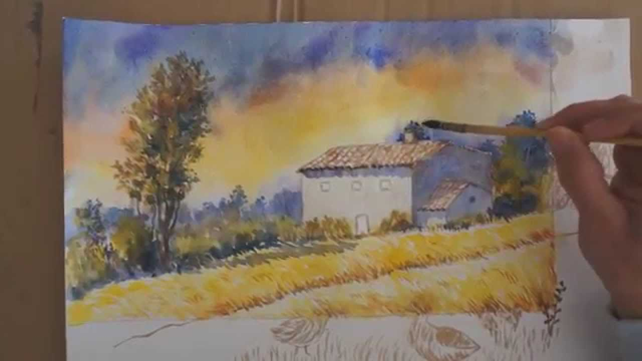 Comment Corriger Une Aquarelle Ratee Watercolor Correction