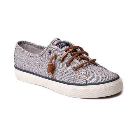 Make a splash with the Seacoast Casual Shoe from Sperry Top-Sider! The Seacoast Casual Shoe features a super soft, cross-hatch canvas upper, and signature rawhide laces. Available only online at Journeys.com and SHIbyJourneys.com! Features include: Breathable canvas upper Lace-to-toe closure with signature rawhide leather laces Removable molded footbed for increased comfort and arch support Vulcanized construction with non-marking rubber outsole...