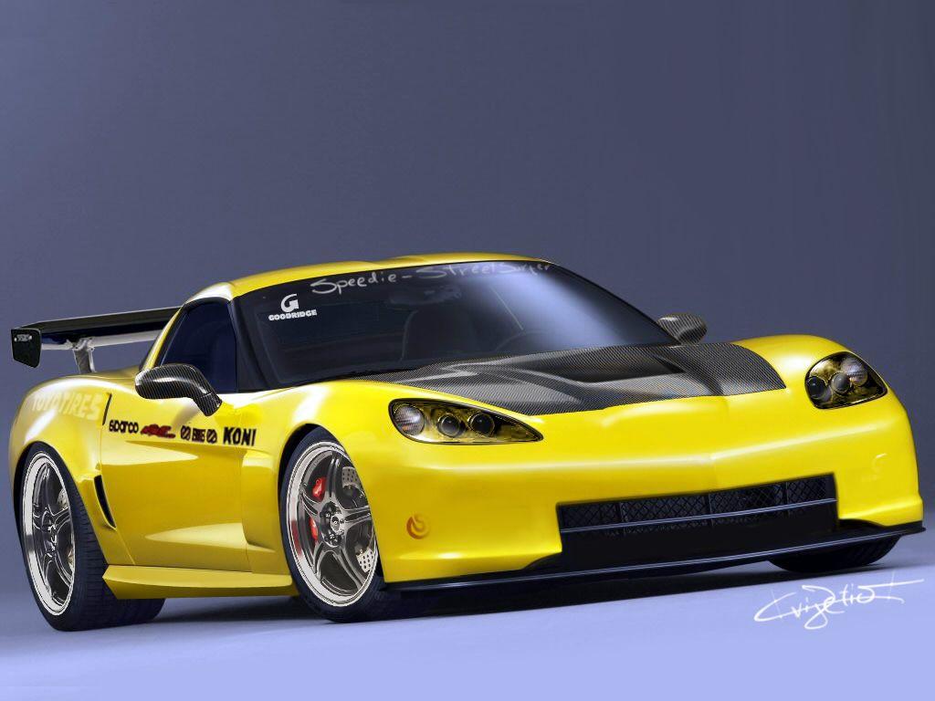 Chevrolet Corvette Z06 Drift Car Is Base Model The Grand Sport