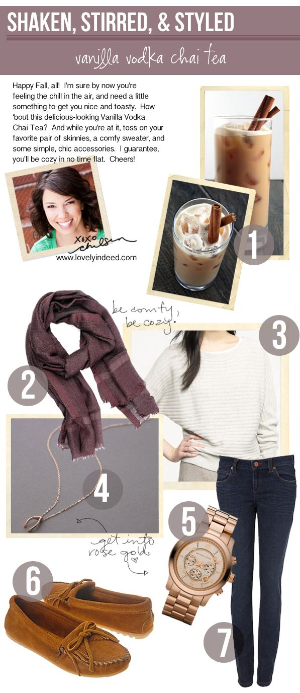 The Social Diary: Shaken Stirred and Styled - Happy Fall!