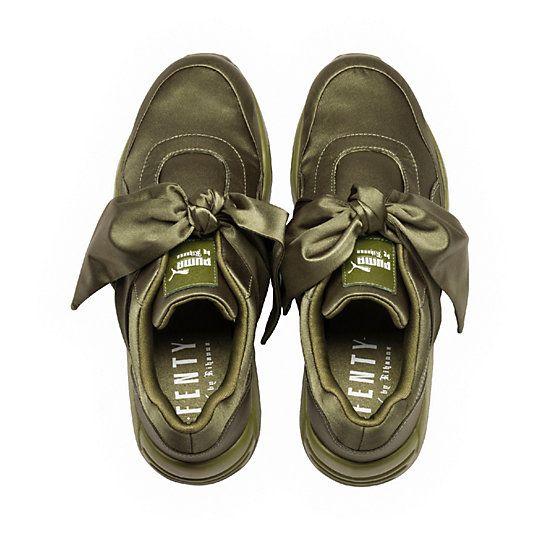 Bow sneakers, Fenty puma, Fenty puma