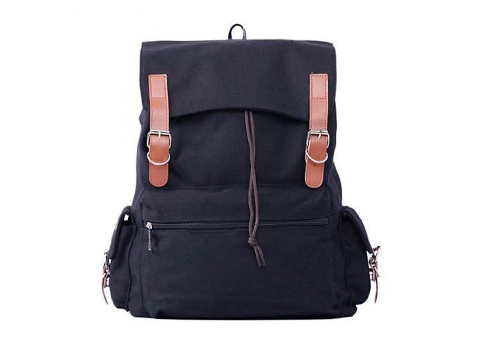 Mochila de lona ¡Adquiérelo en Peggy Sue Bazar! a $450   #moda #PeggySue #OnlineShop #trendy #mochilas #viajes