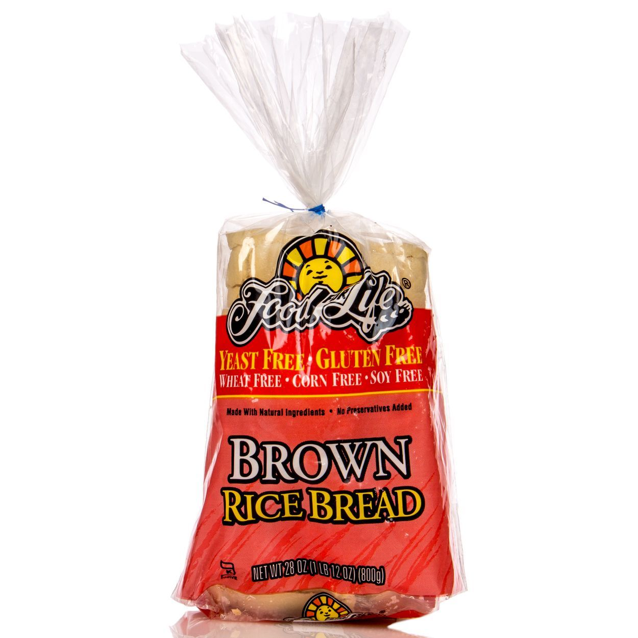 Food for life brown rice bread yeast gluten free