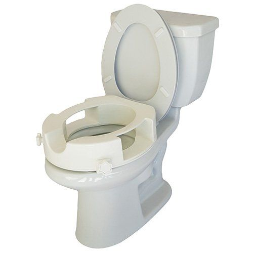 Easy Access Raised Toilet Seat With Easy Wiping Access Bathroom
