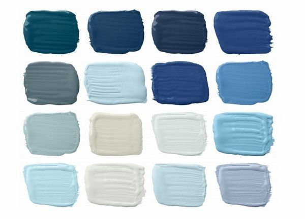 Blue Paint Swatches ralph lauren paint colors palettes harbor blues marine blue shades