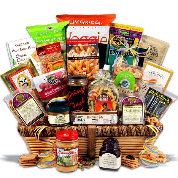 Healthy Christmas Basket | GIFT BASKETS & FLOWERS | Pinterest | Gift ...