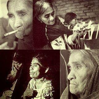 María Sabina. Mujer sabia, ícono para muchos simpatizantes del movimiento hippie. Foto: pickleando.blogspot.com