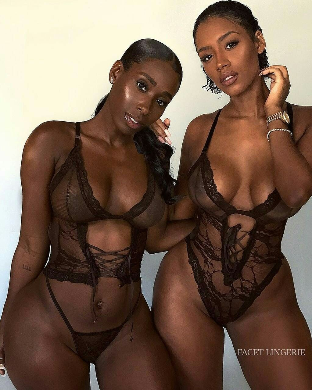 Dark Chocolate Ebony Big Tits