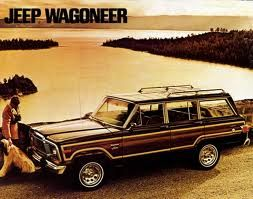 Jeep Wagoneer. This has been my dream car since I was 16. Now if I could convince C.F. that we need one.