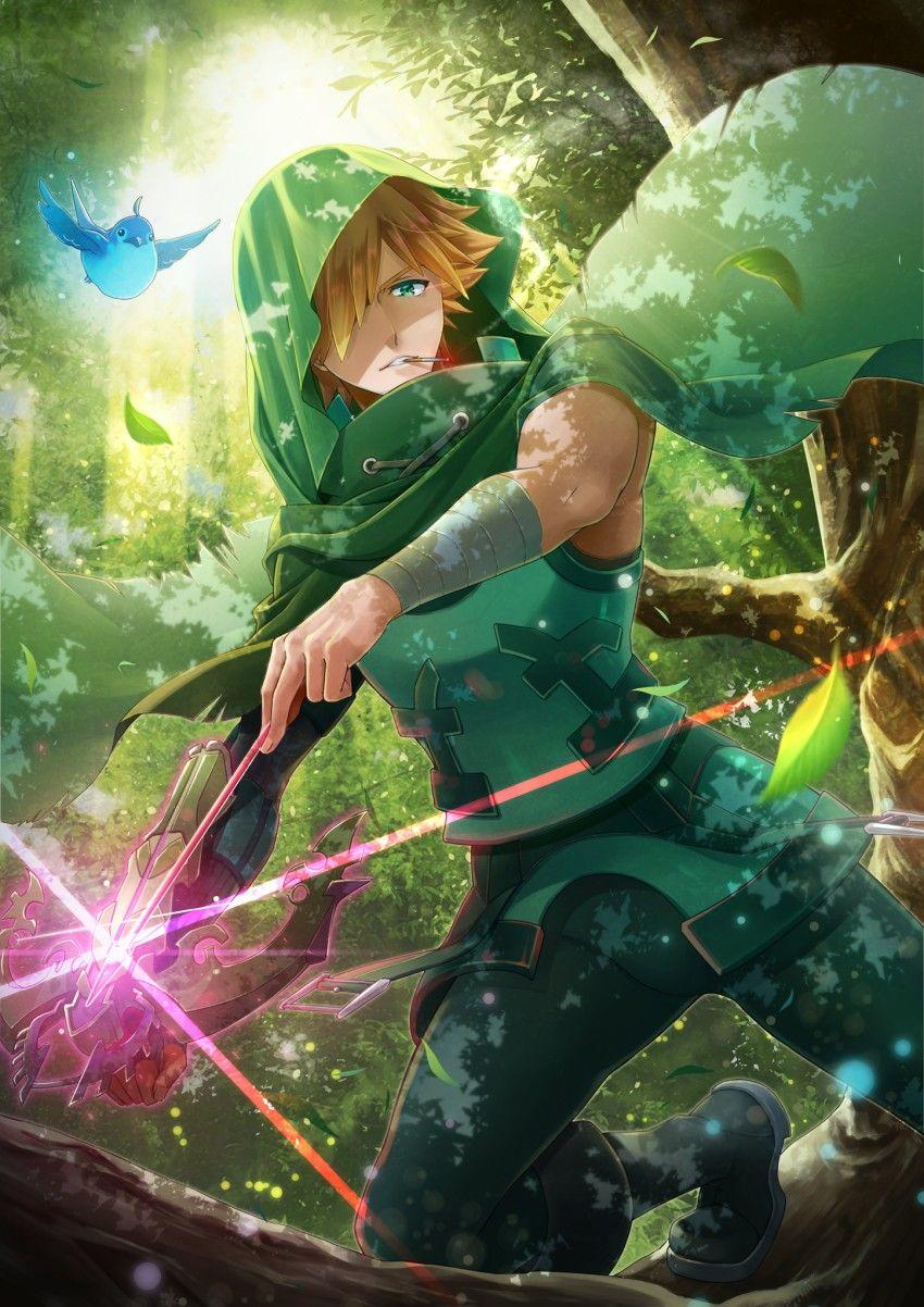 Robbin Hood (Archer Class) FGO Fate, Robin hood, Anime