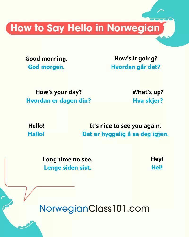 Pin by Bronwyn Adendorff on Learn Norwegian Norway