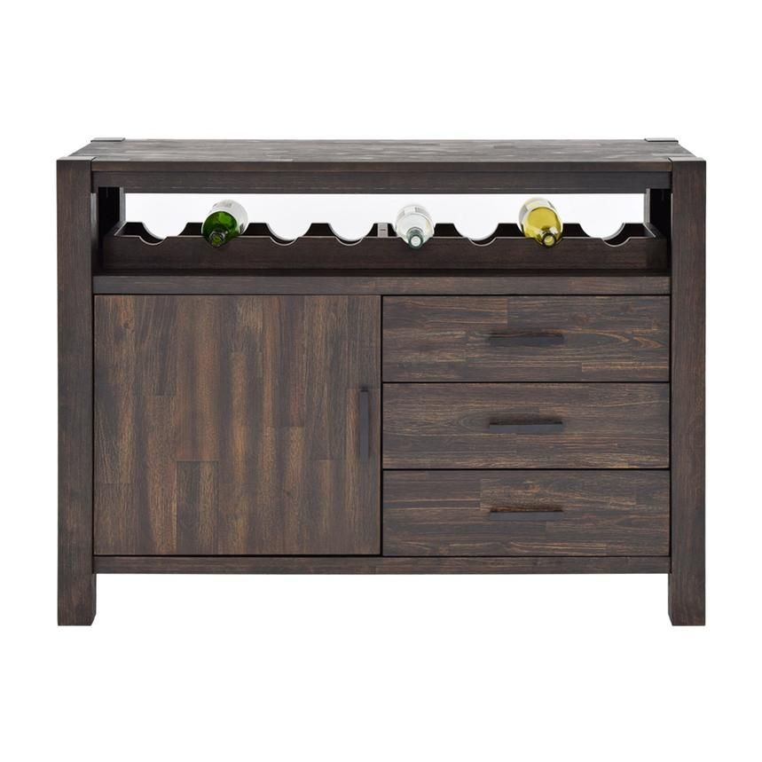 The Chaney Sideboard Offers Simple Rustic Design For Your Dining Room With A Wire Brush Finish
