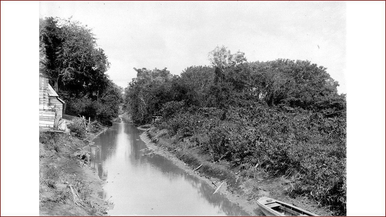 Sommelsdijksche kreek Paramaribo.....1920-1950