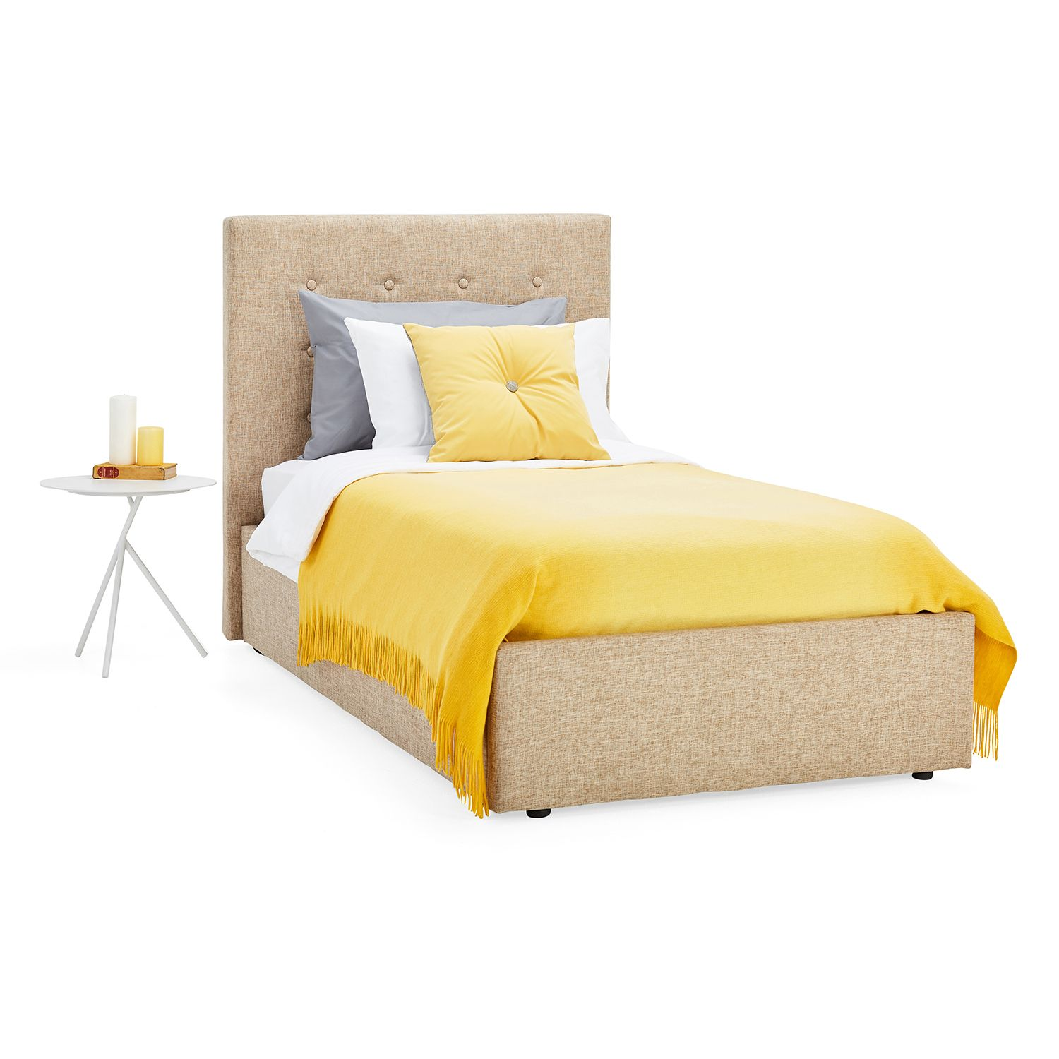 Lucca Upholstered Ottoman Bed Upholstered ottoman