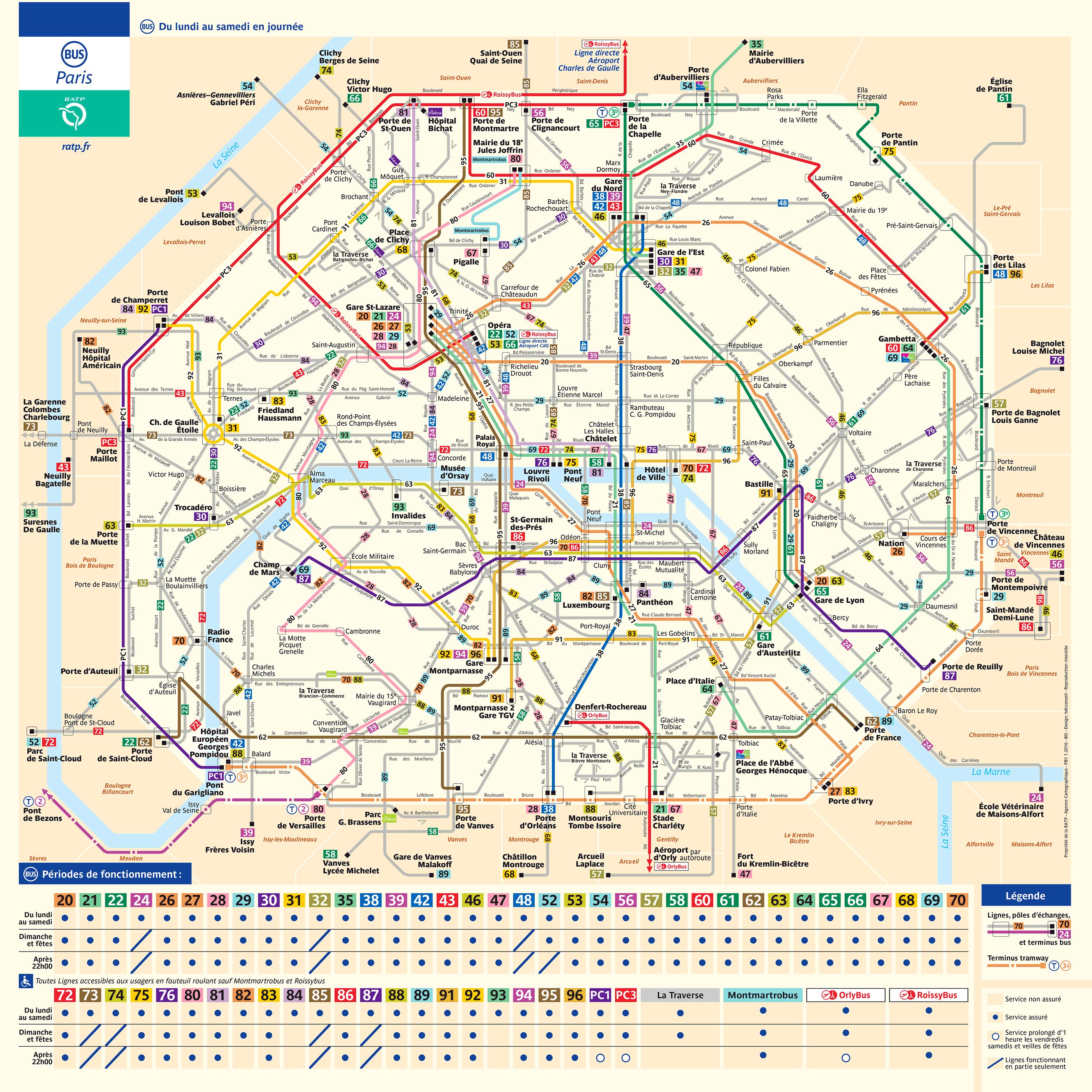 Plan des Bus | Wood Floors in 2019 | Bus map, Paris map, Map D Bus Route Map on