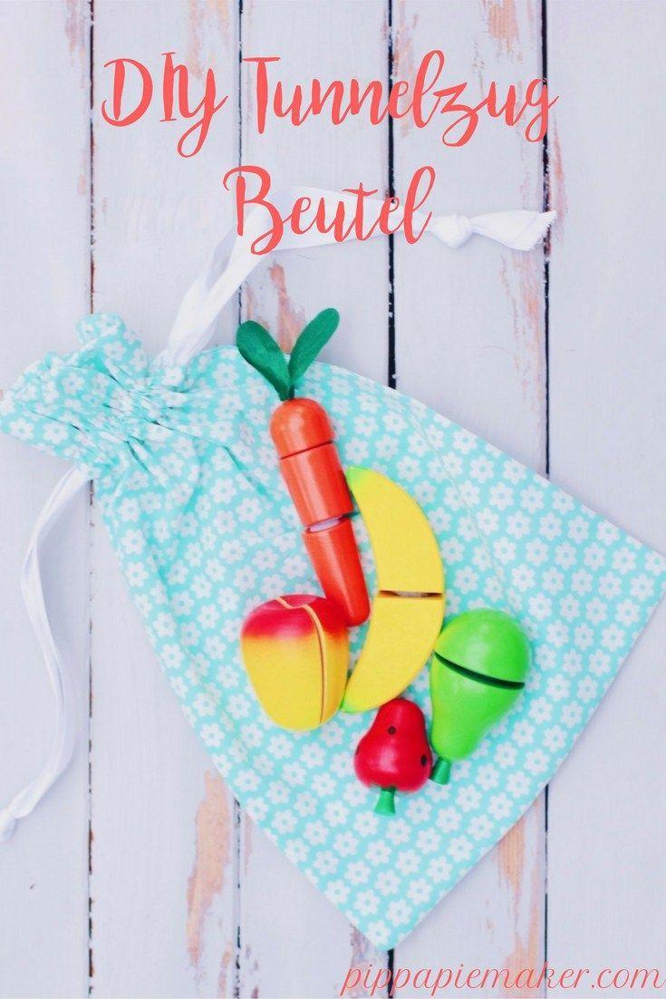 Stoffbeutel Mit Tunnelzug Zur Spielzeug Organisation Sewing Kosmetik Toys Beutel Nhen Funktioniert Fr Als Kamerabeutel Oder Turnsckchen