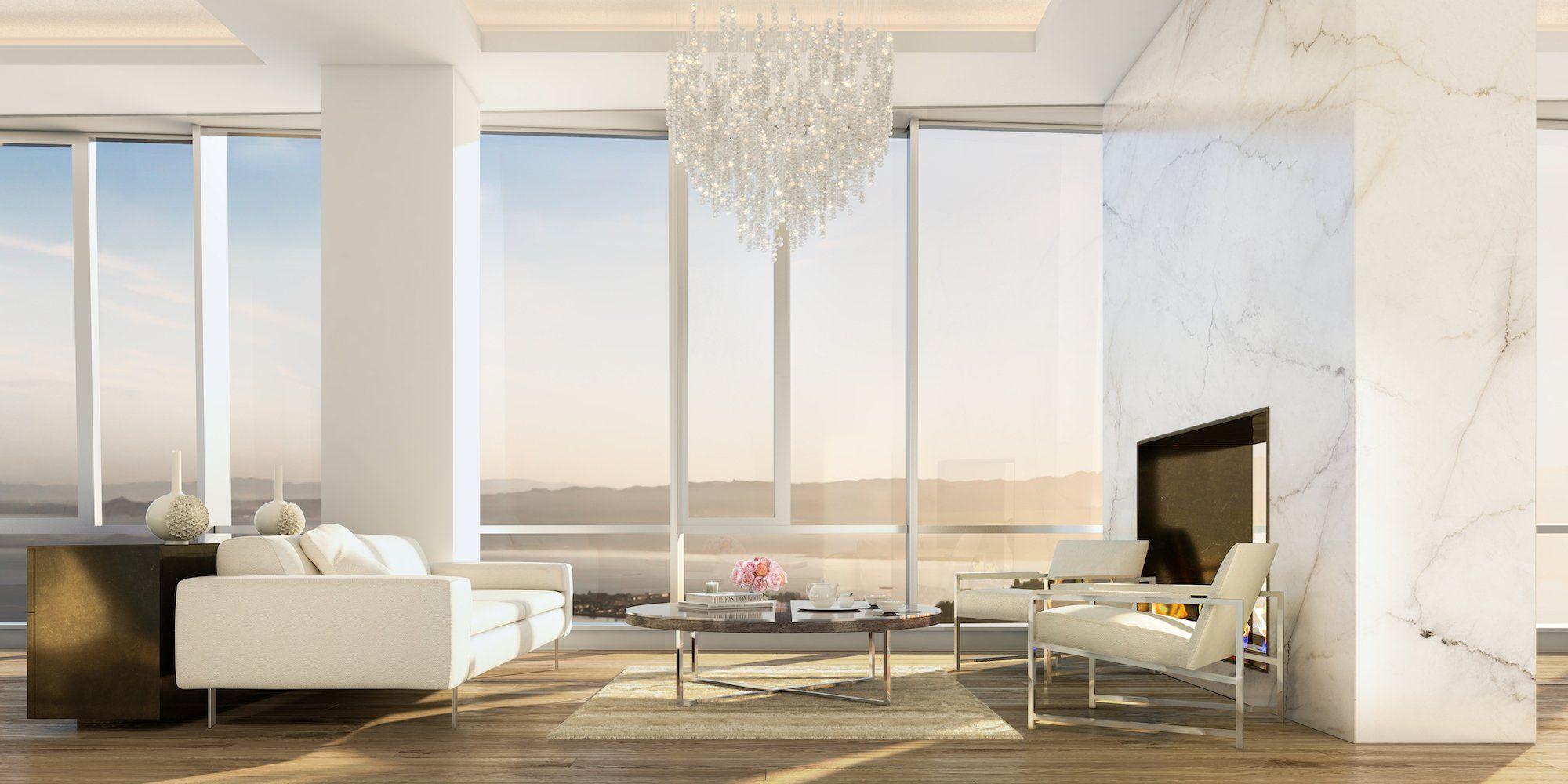 Photos of San Francisco's tallest penthouse apartment ...
