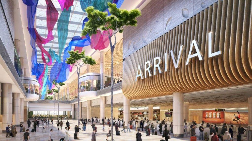 Νέο Τέρμιναλ για το αεροδρόμιο Σιγκαπούρης Τσανγκί