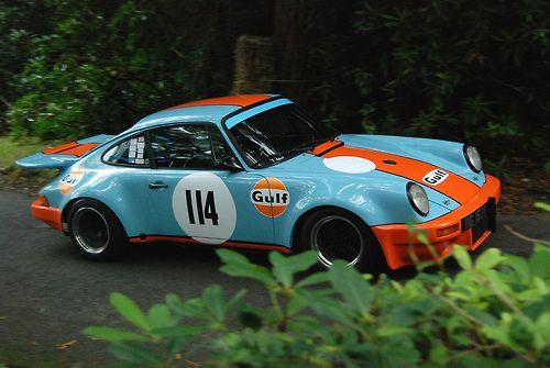 The Automobilia Blog Custom Porsche Gulf Racing Porsche 911