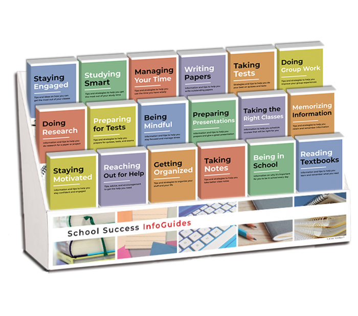 School Success InfoGuide Display Package | Academic ...